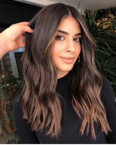 Haare - Ombre Hair Color - Wedding Decorations Part of planning for a wedding is Brown Hair Balayage, Blonde Hair With Highlights, Brown Blonde Hair, Light Brown Hair, Color Highlights, Dark Hair, Dark Brown Hair Rich, Blonde Honey, Ombre Hair Color