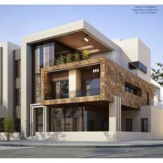Glamorous and exciting architectural inspiration. See more Mid-Century or Modern - architectural - Glamorous and exciting architectural inspiration. See more Mid-Century or Modern, - Modern Exterior House Designs, Dream House Exterior, Modern Architecture House, Modern House Design, Exterior Design, Interior Architecture, Pavilion Architecture, Drawing Architecture, Architecture Portfolio
