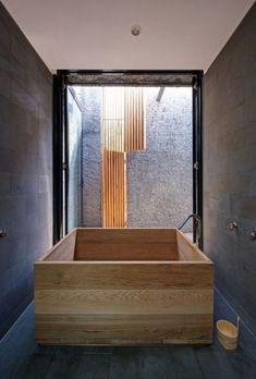 ComfyDwelling.com » Blog Archive » Luxurious Trend: 48 Wooden Bathtubs  Asian Bathroom,