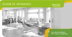 Design de Interiores - Soluções Inovadoras para todos os ambientes