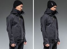 Acronym - Fall/Winter 2014 Fall Winter 2014, Streetwear Fashion, Street Wear, Raincoat, Mens Fashion, Jackets, Style, Rain Jacket, Moda Masculina