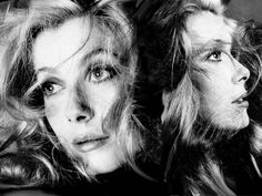 Una hermosa foto de la actriz francesa Katherine Deneuve.