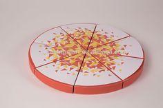 N999 Triangle Pizza Box Design, Custom Printed Paper Pizza Box Design, Fantastic Pizza Box By The Slice