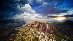 Vezi de Rim de Sud a Grand Canyon