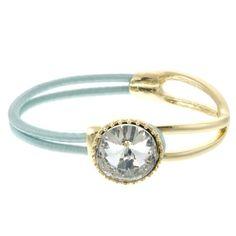 Blue Crystal Stretch Bracelet