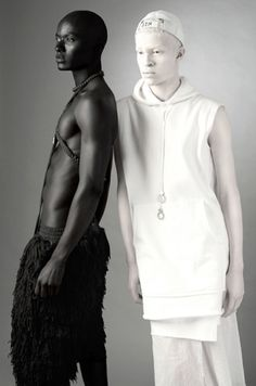 Throwback: Papis Loveday and Shaun Ross in CHAOS Magazine - AFROPUNK