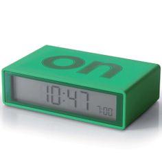 Reloj Lexon Flip Verde Oscuro Alarma y Snooze http://www.tutunca.es/reloj-lexon-flip-verde-oscuro-alarma-snooze