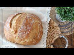 CHLEB - najprostszy przepis / TYLKO 4 SKŁADNIKI ! - YouTube Youtube, Breads, Pizza, Green, Projects, Brot, Bakken, Bread Rolls