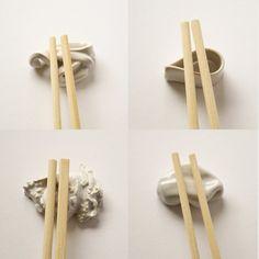 I love sushi -chopstick rest