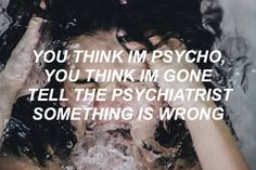 So what if I'm crazy, all the best people are. mad hatter- melanie martinez // source: tumblr song lyrics