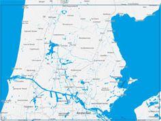 Nieuwe Vaarkaart Noord-Holland Zuid