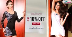 Flat 10% OFF! Dress Kart - #Women #Dresses Online in India on Planeteves.com. Get wide Variety of #Stylish Dresses and Colour with #DressKart Brands. Free Shipping and Pay on Delivery Available. Hurry Up!!