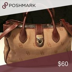 Dooney and Burke Handbag Signature fabric. Multiple compartments and pockets Dooney & Bourke Bags Satchels
