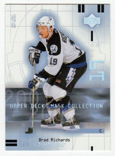 Brad Richards # 88 - 2001-02 Upper Deck Mask Collection Hockey