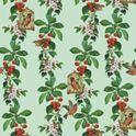 """die """"Apfelkirsche"""" - wunderbare Tapete der Gräflich Münster′schen Manufaktur für ausgesucht schönes Wohnen"""