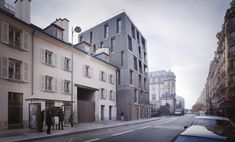 Gallery of Student Hall of Residence + Family Homes / Babled Nouvet Reynaud Architectes - 4