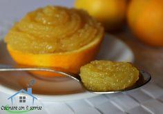 Crema all'arancia senza latte e uova
