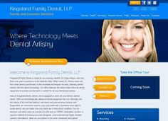Kingsland Family Dental- We custom designed this website with latest in PHP, CSS and Java Script. We also  programmed a content management system that gives the office the ability to update content on-the-fly. We also perform monthly SEO for this website for TOP search engine rankings. #websitedesign #KingslandFamilyDental #DrArtaza #HyperlinksMedia