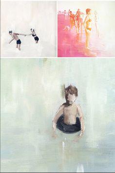 lisa golightly paintings on jealouscurator.com