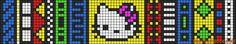 Alpha Friendship Bracelet Pattern #7701 - BraceletBook.com