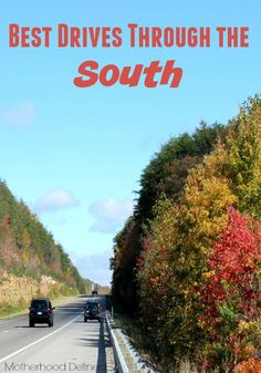 The South is full of culture, amazing food, and a lot of adventure. Whether you have time for only a quick day trip or a weekend getaway, you have to try these Best Drives Through the South.