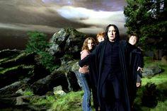 Alan Rickman dans le film Harry Potter et le Prisonnier d'Azkaban