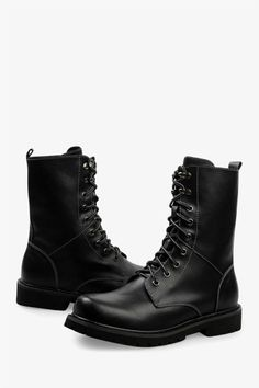 This item is shipped in 48 hours, including the weekends. These are the perfect boots for winter and fall, with waterproof leather and a lace-up front with metallic eyelets.. The smooth lining with it