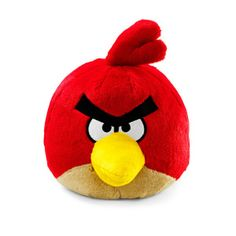 angry birds red plush toy