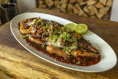Fish Supper, Summer Savory, Crispy Onions, Sweet Chilli Sauce, James Martin, Hoisin Sauce, Fresh Ginger, Prawn, Fish And Seafood