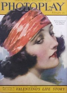 Silent Movie Magazine - Photoplay Magazine - February 1923 - Pola Negri