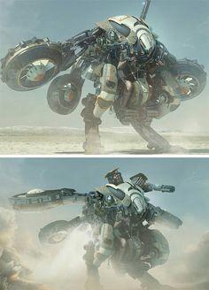 Hazard Droid deployer? Crazy Riptide? Prototype Ghostkeel?
