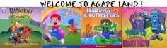 Buy Agapeland Music Machine CD Fruit of the Spirit Character Builders story books