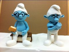 ▶ sugar paste smurf - YouTube