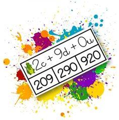 Cartes à pince: C/D/U Math 5, Teaching Math, Math Logo, Math School, Activity Mat, Cycle 3, Math Numbers, 3rd Grade Math, Math For Kids