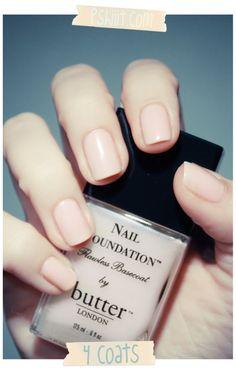 Nail Foundation - Butter London
