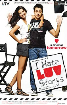 I Hate Luv Storys 2010 HD 550MB lot:Simran (Sonam Kapoor) loves Bollywood romances—so much so that her life has begun to resemble one.he is