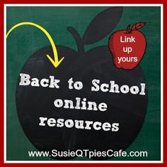 Favorite Back To School Online Resources- great for homeschool, too!