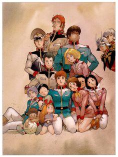 JAPAN三, 安彦良和 : 安彦良和『ガンダム THE ORIGIN』のアートな画像【27枚】 - NAVER まとめ