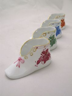 ROYAL BABY: Herend Baby Shoes