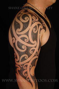 Tattoo Sleeve Layout Builder Polynesian Tribal Tattoos Maori Tatoo Arm Zombie
