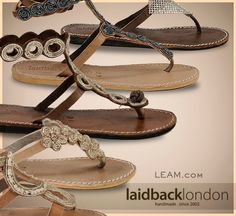 LAIDBACK LONDON...just discovered the cutest sandals EVER!