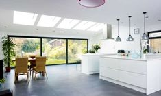 Open plan spaces can make the most out of your extension