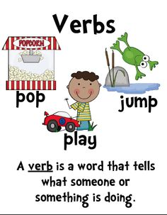"""""""verbs"""" should be re-named """"ing"""" so I could remember what a verb is."""