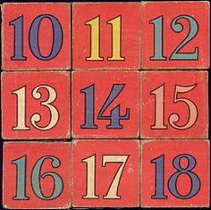 blocks 10-18
