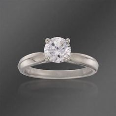 A striking Diamond Engagement Ring in White Gold. >>Click on the White Gold Ring to shop our collection.