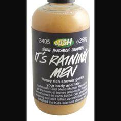 It's raining men shower gel, smells so yummy!