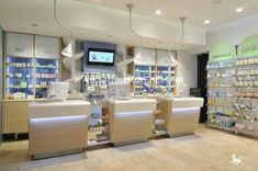 PHARMACIES! San Ciro – Doc Guerra pharmacy by Sartoretto Verna, Naples #counter…