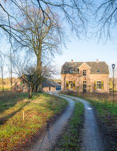Goedenberg; Vooraanzicht Country Roads, Mansions, House Styles, Home Decor, Decoration Home, Manor Houses, Room Decor, Villas, Mansion