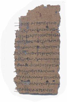 Sappho fragment.
