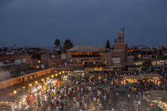 Djemaa el Fna   #Marrakech Public Square, Summer Nights, Paris Skyline, Dolores Park, Magic, Travel, Marrakech, Travel Tips, Heart